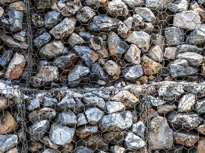 توری گابیون - توری سنگی چیست